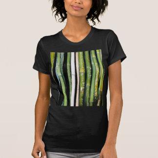 Tallas de bambú camisetas