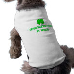 "Tallas de camisa XS-XL del perrito ""del PERRO Camiseta Sin Mangas Para Perro"