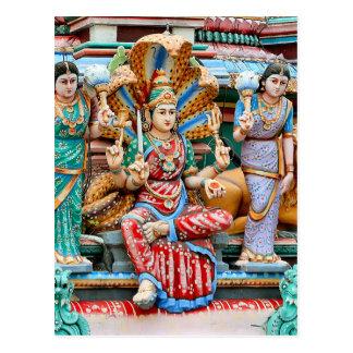 Tallas del templo postal