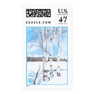 tallbirch postage stamp