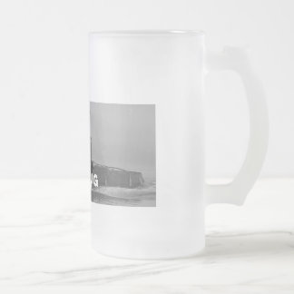 Tallboy Frosted Glass Mug Cup Tough As A Tugboat