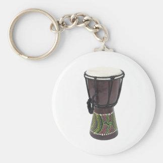TallDjembeDrum070111 Keychain