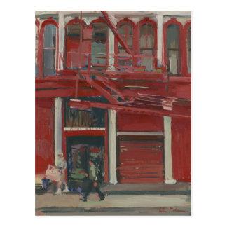 Taller de pintura de la perla Manhattan Postales
