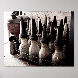 Taller de reparaciones de la Botella-Antigüedad de Posters