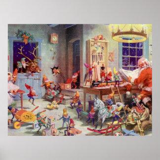 Taller de Santas Póster