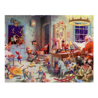 Taller de Santas Tarjetas Postales