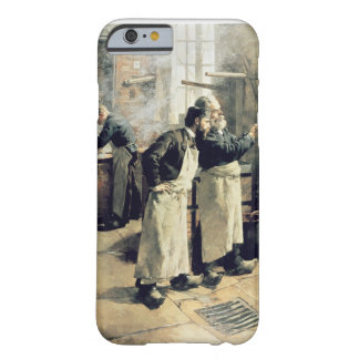 Taller de teñido en los duendes, siglo XIX Funda Para iPhone 6 Barely There