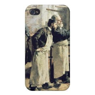 Taller de teñido en los duendes, siglo XIX iPhone 4 Fundas