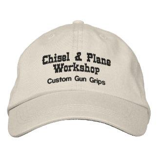Taller del cincel y del avión gorra de beisbol