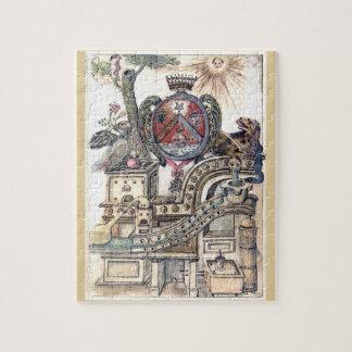 Taller simbólico de la alquimia puzzle con fotos