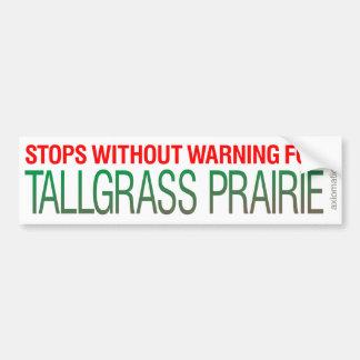 TALLGRASS PRAIRIE (GW) CAR BUMPER STICKER