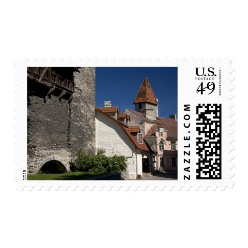 Tallin, Estonia. Tallin is somewhat of an Postage