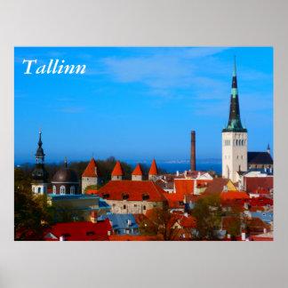 Tallinn, Estonia Poster