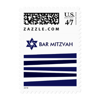 Tallit Bar Mitzvah Postage Stamp
