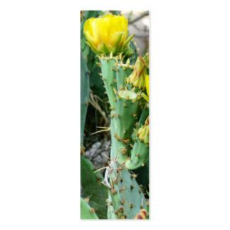 Tallo amarillo plantilla de tarjeta de visita