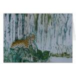 Tallo del leopardo tarjeta