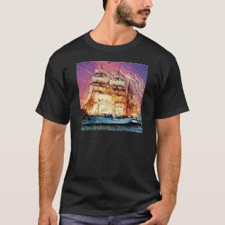 tallship and fireworks T-Shirt