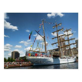 Tallships in Baltimore Postcard