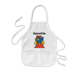 Tallulah Makes a Funny Face Kids' Apron
