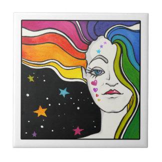Tallulah Pop Art Diva Tile