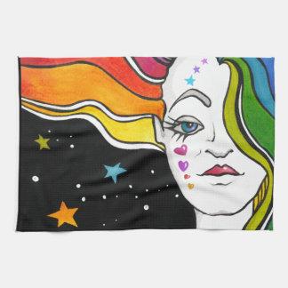 Tallulah Pop Art Diva Towel