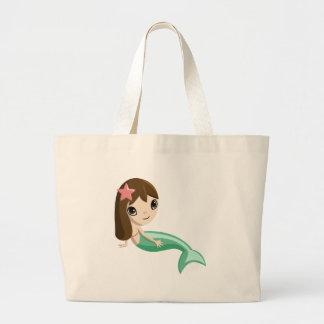 Tallulah the Mermaid Tote Bag