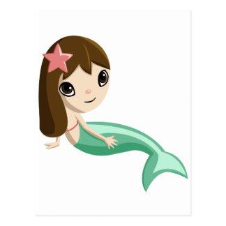 Tallulah the Mermaid Postcard