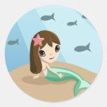 Tallulah the Mermaid Sticker