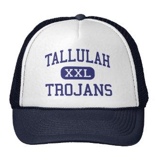 Tallulah - Trojan - alto - Tallulah Luisiana Gorros Bordados