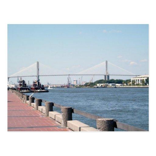 Talmadge Memorial Bridge Postcard