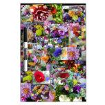 Talmar Flower Bouquets Dry-Erase Boards