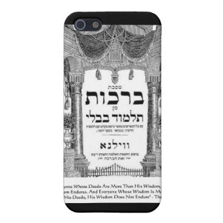 """Talmud """"Wisdom/Deeds"""" Quote Gifts Tees Cards Case For iPhone SE/5/5s"""