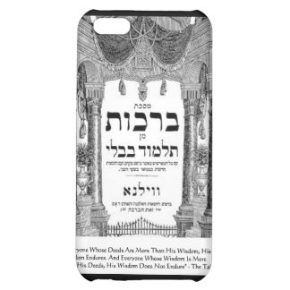 "Talmud ""Wisdom/Deeds"" Quote Gifts Tees Cards Cover For iPhone 5C"