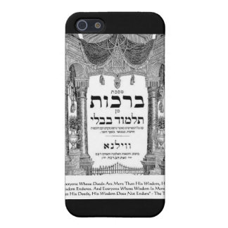 """Talmud """"Wisdom/Deeds"""" Quote Gifts Tees Cards iPhone SE/5/5s Case"""