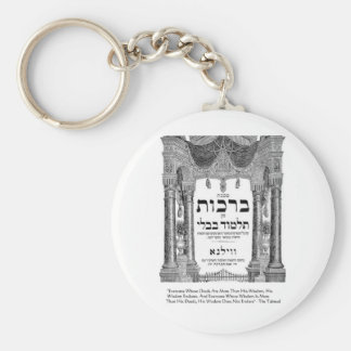 """Talmud """"Wisdom/Deeds"""" Quote Gifts Tees Cards Keychain"""