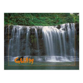 Talofofo Falls Guam Postcard