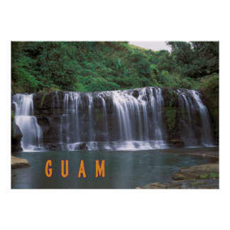 Talofofo falls Guam Poster