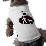 """¡TALÓN de Thots del perro """"! """" Camisa De Perro"""