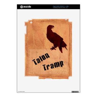 Talon Tramp iPad 2 Skin Template