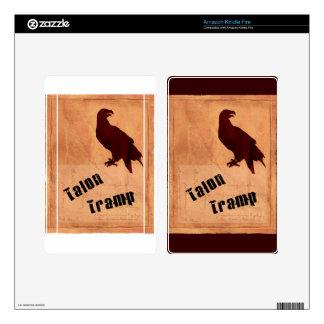 Talon Tramp Kindle Fire Skin