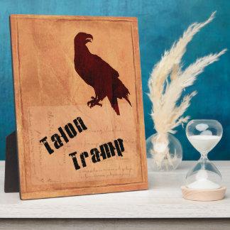 Talon Tramp Plaque