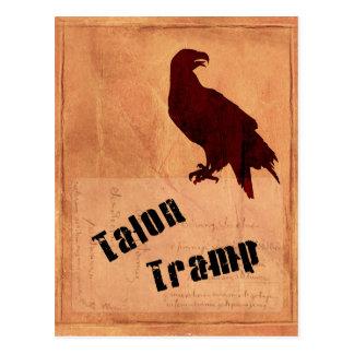 Talon Tramp Postcard Vertical