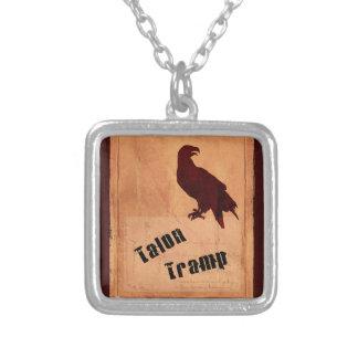 Talon Tramp Square Necklace