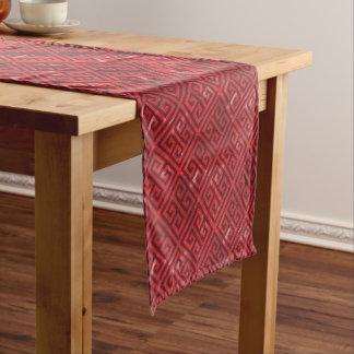 Talosian Red Fine Short Table Runner