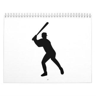 Talud del béisbol calendarios