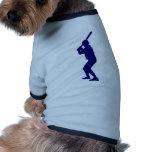 Talud del béisbol camisetas mascota