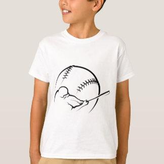 Talud del béisbol con la bola playera
