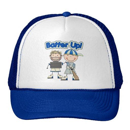 Talud del béisbol para arriba gorras de camionero