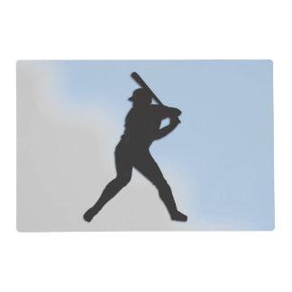 Talud del béisbol para arriba salvamanteles