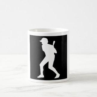 Talud del béisbol tazas de café